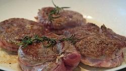 Steak-braten